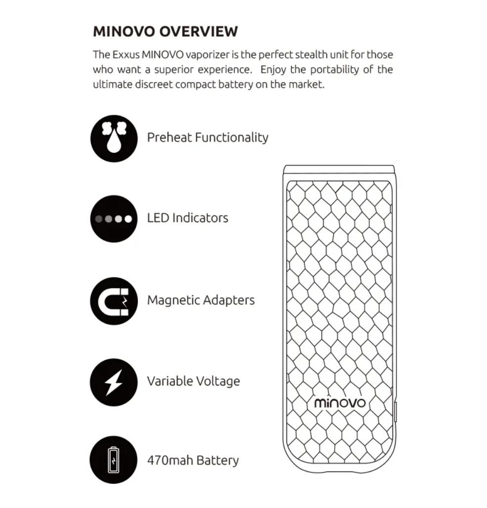 Exxus Minovo Vaporizer