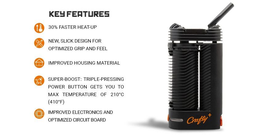 vaporizer key features
