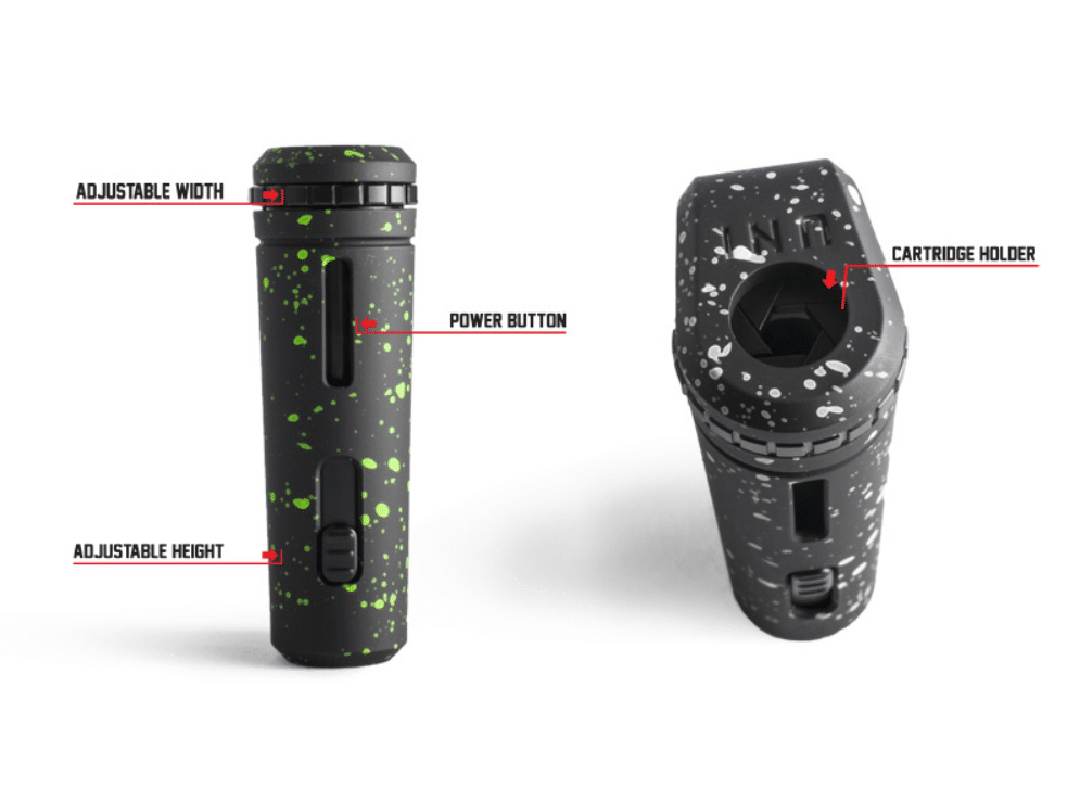 UNI Adjustable Cartridge Vaporizer by Wulf Mods